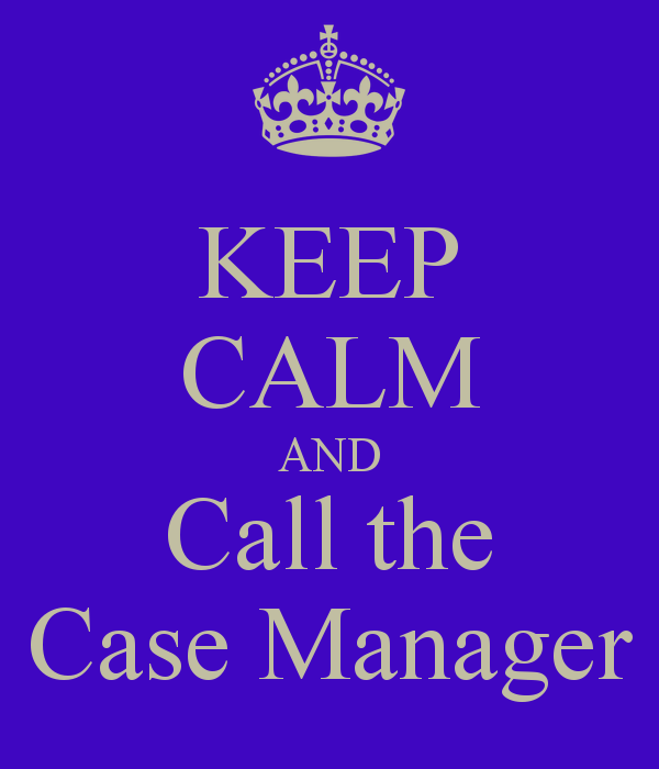 what should an adjuster expect from case management