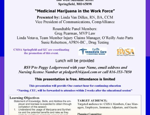 Medicinal Marijuana in the Work Force
