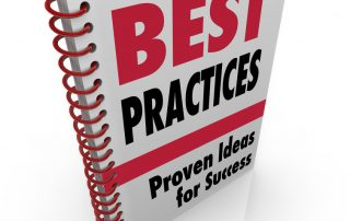 To depict Best Practices - this is a ring binder book of best practices
