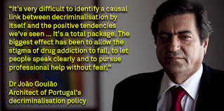 a quote from Dr. Joao Goulao